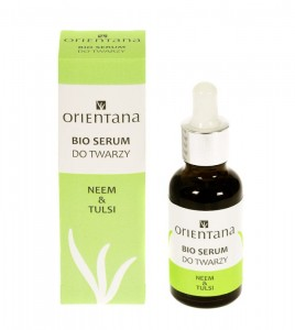 Serum do twarzy NEEM I TULSI Orientana (data: 6.2020)