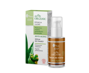 Aloe Organic Serum do twarzy anti-aging OPUNCJA I ALOES 30ml AVA